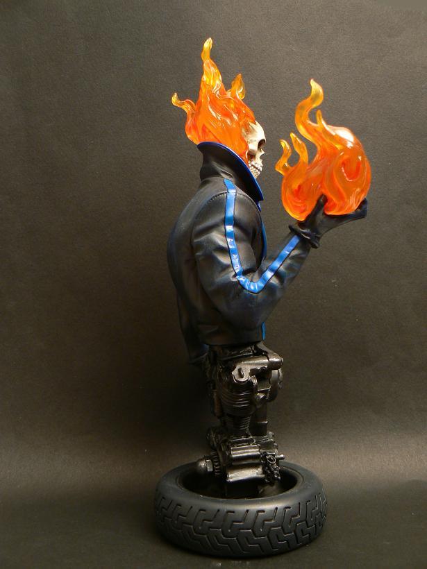 """MOTARD FANTÔME """"J.Blaze"""" (Ghost Rider) P1070418"""