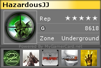 Post Your Gamercards! Hazard11