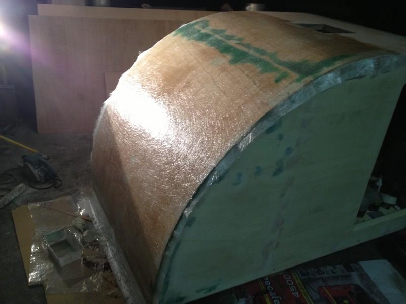Fabrication d'un TEARDROP TRAILER   une mini caravane - Page 2 Img_1110