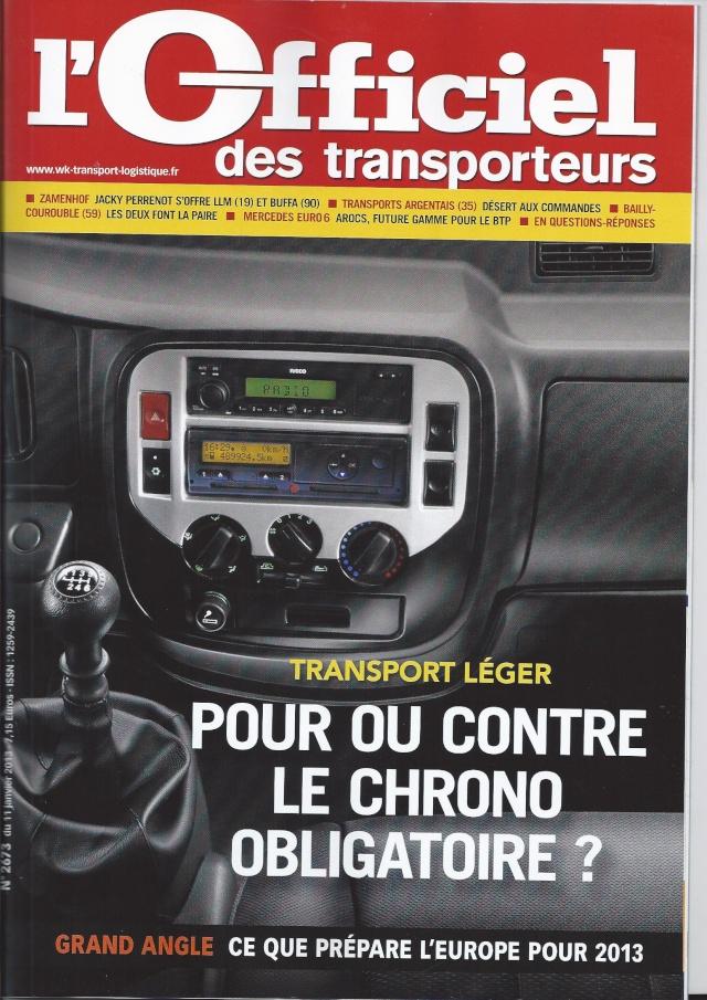 véhicule 3.5 ts chronotackygraphe pour ou contre Transp10