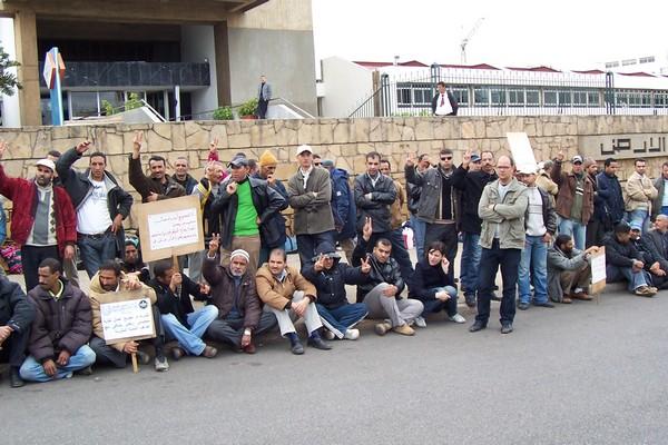 Sit-in des ouvriers de l'OCP Ocp310