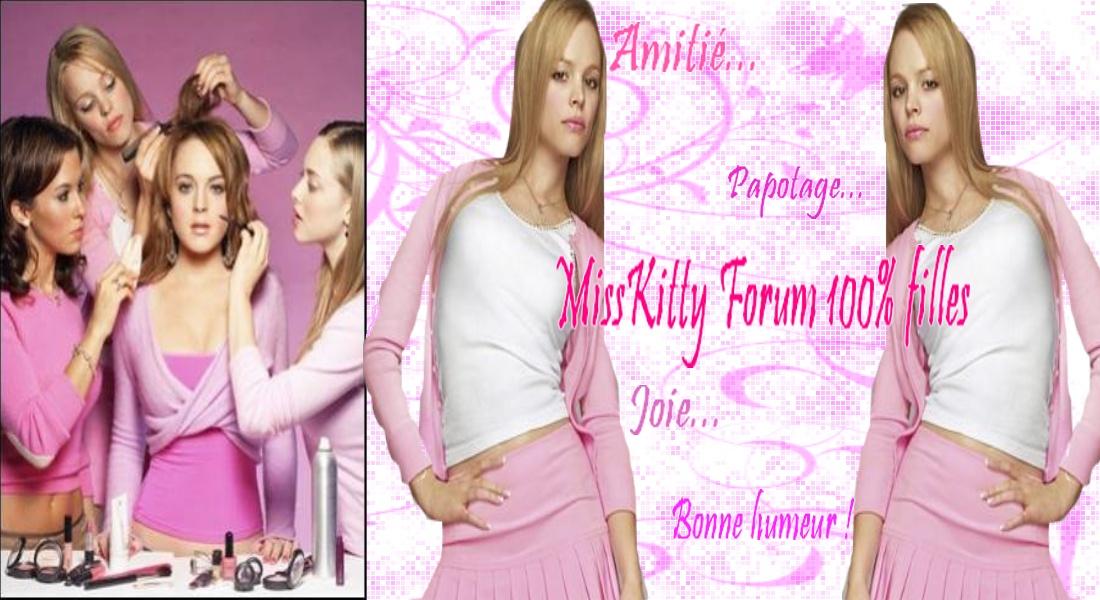 Forum de Miss Kitty 100%filles