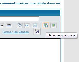 comment insérer une photo dans un texte Heberg10