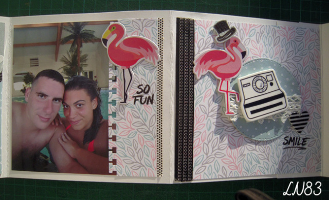 Galerie sujet mini album équipe B les 9 MUSES Ln83-156