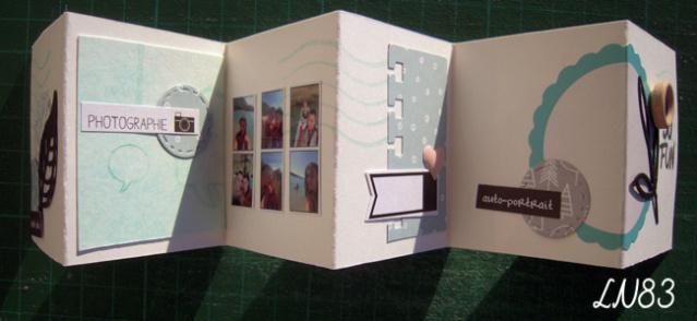 Galerie sujet mini album équipe B les 9 MUSES Ln83-159