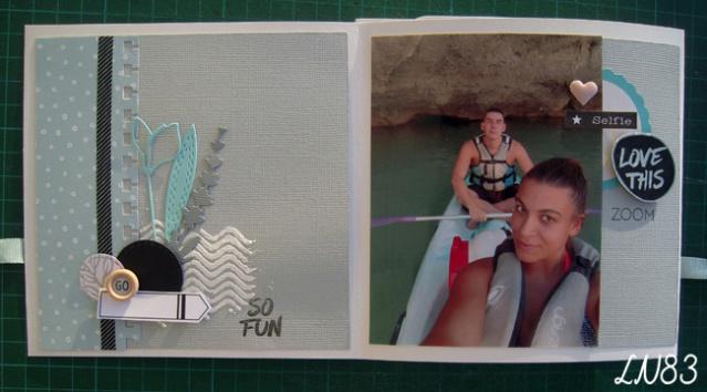 Galerie sujet mini album équipe B les 9 MUSES Ln83-161