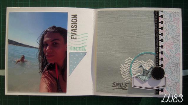 Galerie sujet mini album équipe B les 9 MUSES Ln83-163