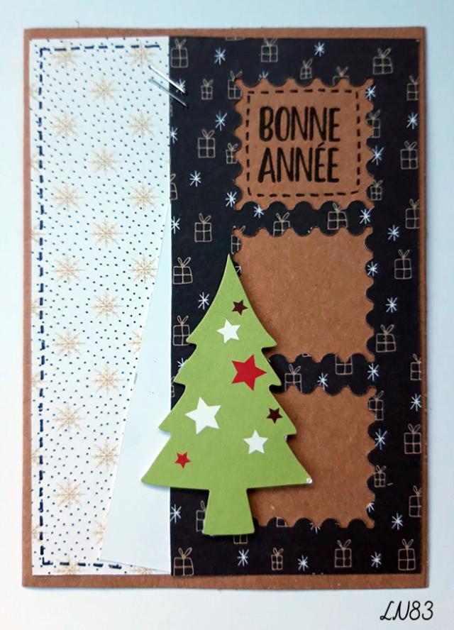 2° défi de cartes de Noël 13/11 - Page 2 Ln83-328