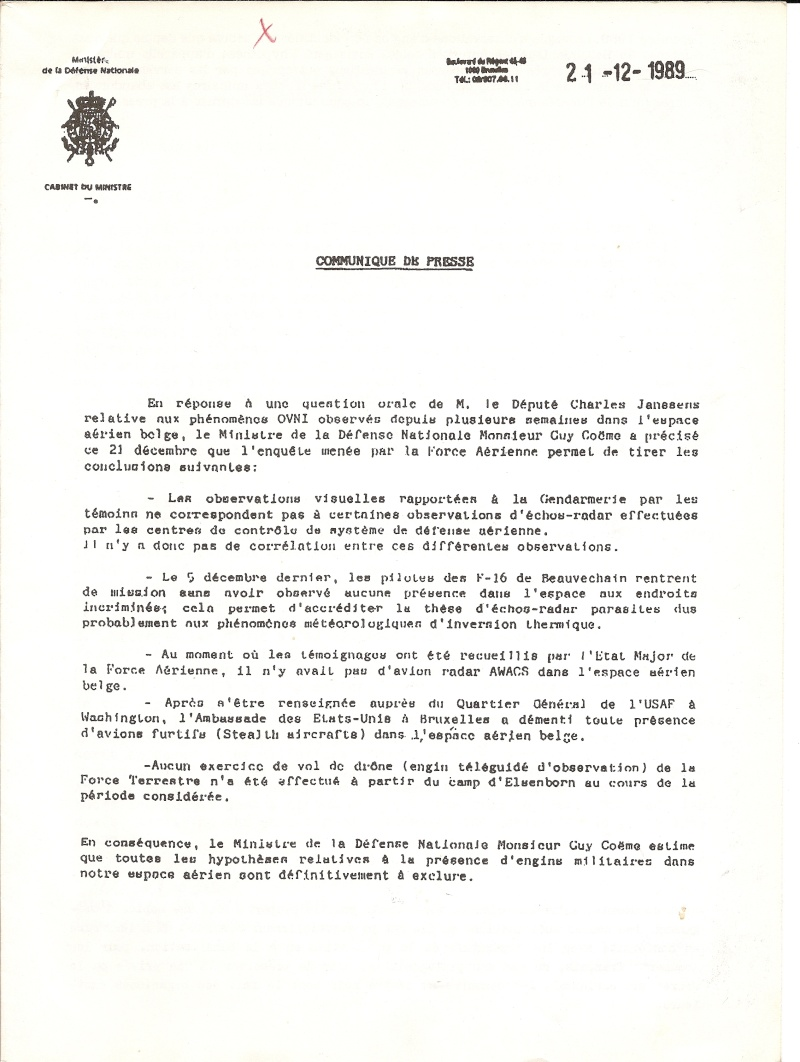 Présentation de l'affaire: La Vague d'observation Belge (1989-1992) Photo_10