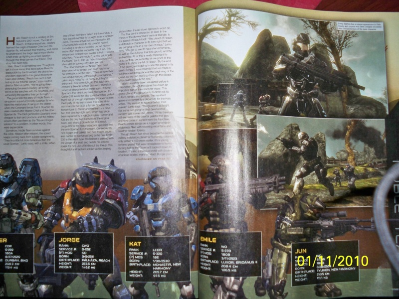 the Halo reach info and pics in this thread, from the MLG boards 100_0911