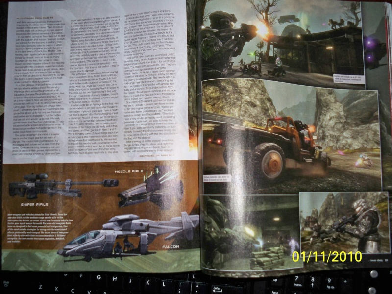 the Halo reach info and pics in this thread, from the MLG boards 100_0912