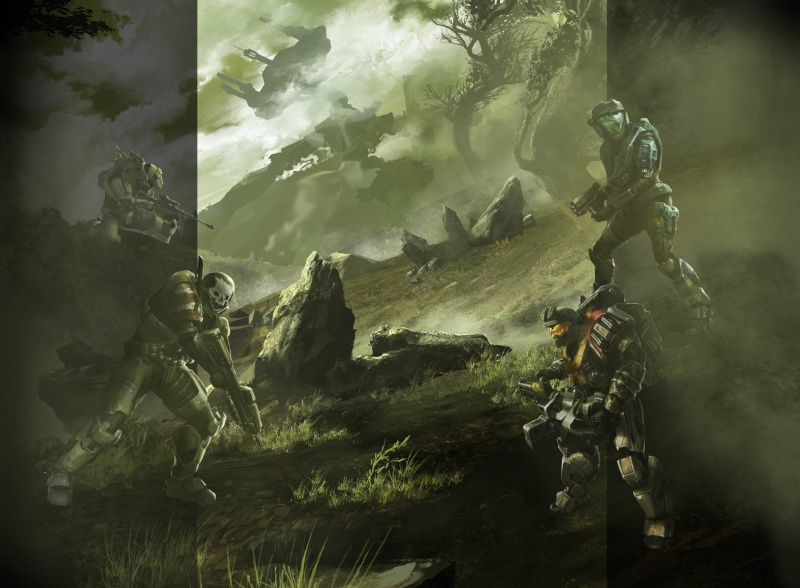 the Halo reach info and pics in this thread, from the MLG boards Halore10