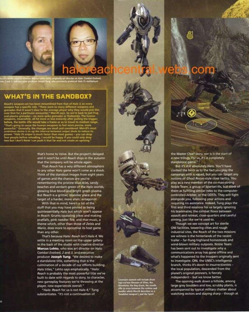 More halo reach info from EDGE with Scans Page5010