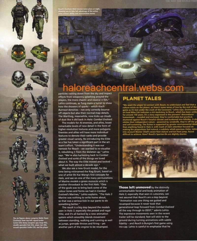 More halo reach info from EDGE with Scans Page5311