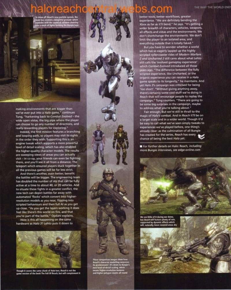 More halo reach info from EDGE with Scans Page5510