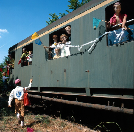 Impressions de Bernard Faucon - Le Depart En Train - Chandrakala R et Preethi D'Souza Le_dep12