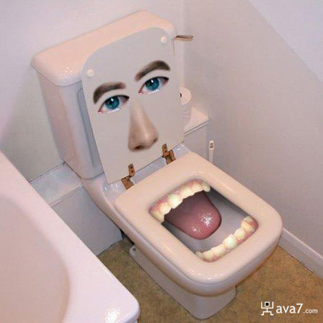 Toilet nu ba to? hehe Mouth-10