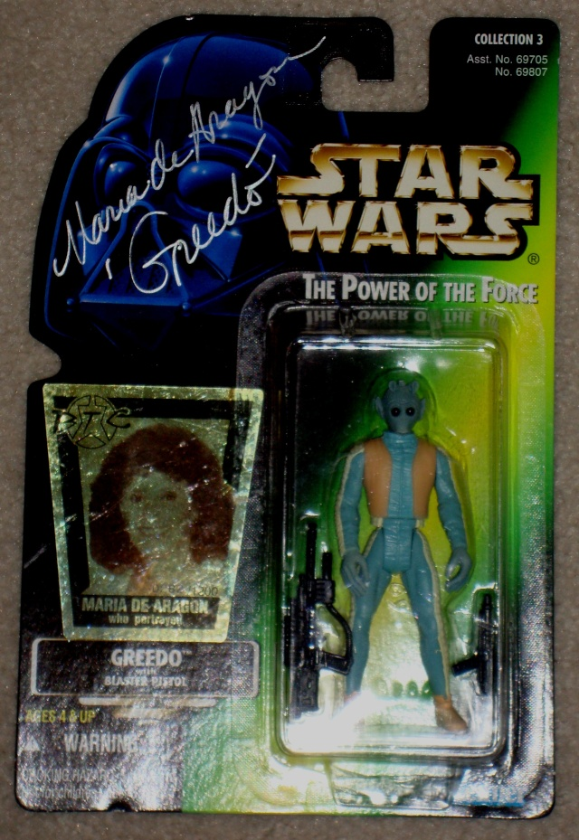 ***UPDATE***   Vintage Star Wars Trilogy Autograph Collection Greedo10