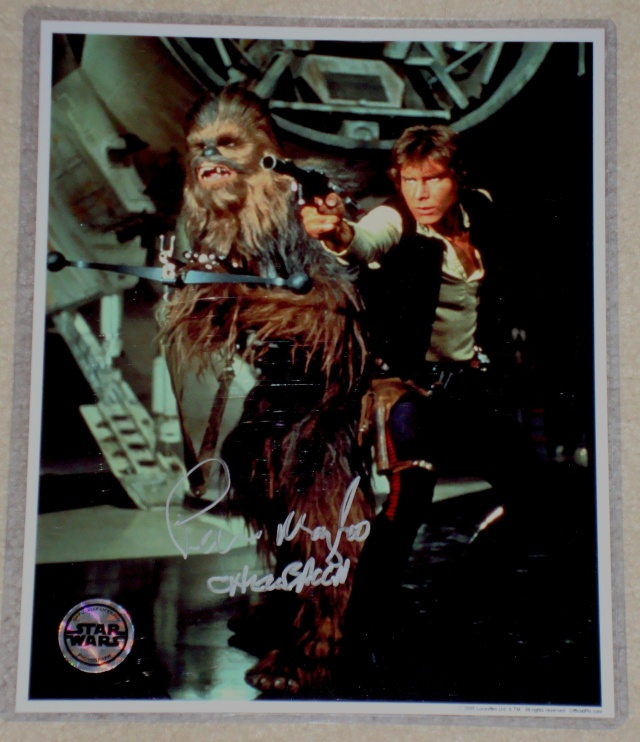***UPDATE***   Vintage Star Wars Trilogy Autograph Collection Mayhew10