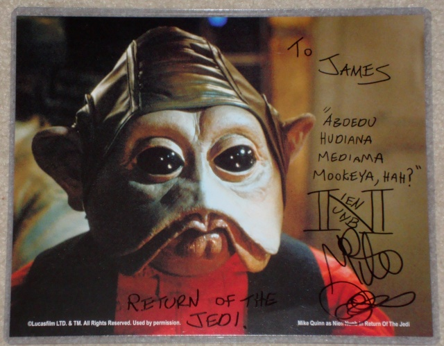 ***UPDATE***   Vintage Star Wars Trilogy Autograph Collection Nien_n10