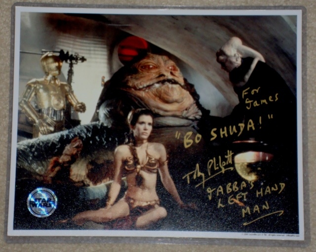 ***UPDATE***   Vintage Star Wars Trilogy Autograph Collection Philpo10