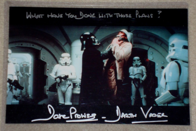 ***UPDATE***   Vintage Star Wars Trilogy Autograph Collection Prowse10