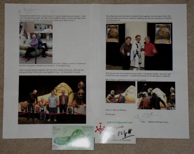 ***UPDATE***   Vintage Star Wars Trilogy Autograph Collection Toby_l10