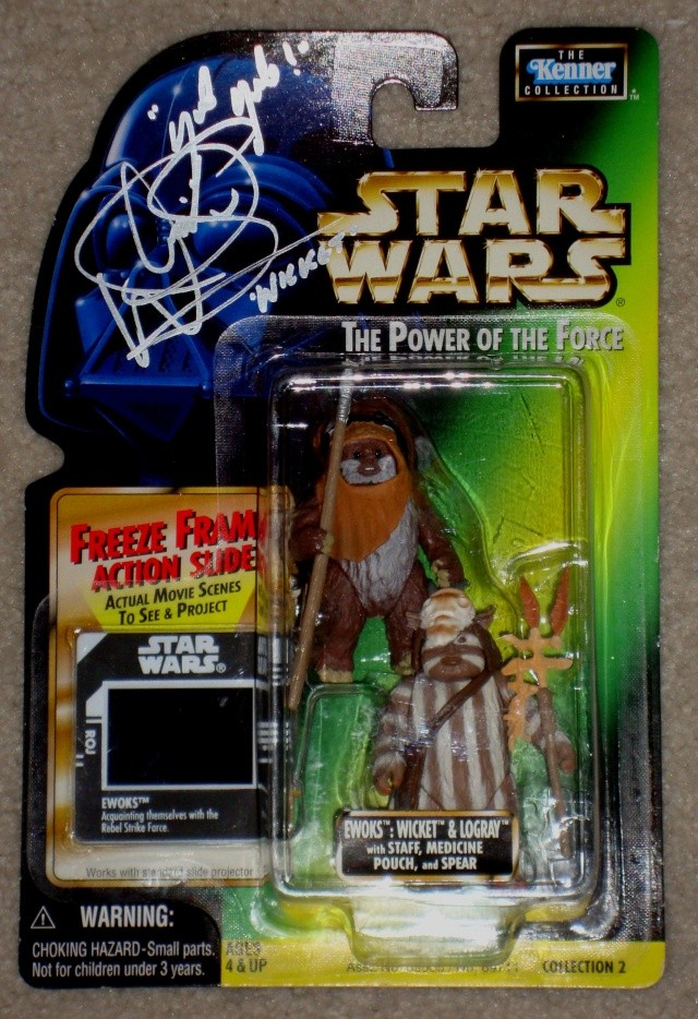 ***UPDATE***   Vintage Star Wars Trilogy Autograph Collection Wicket11