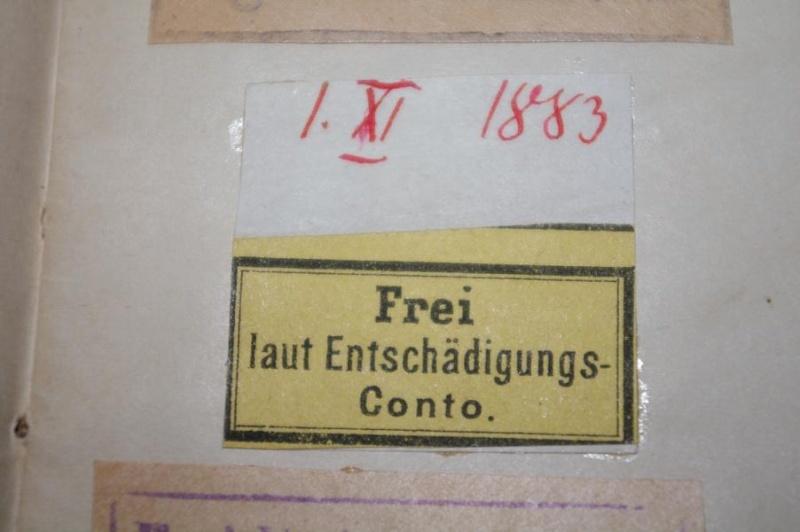 Frei laut Entschädigungs- Conto. und Koenigl. Preuss. JNFT. REGT. K800_i10