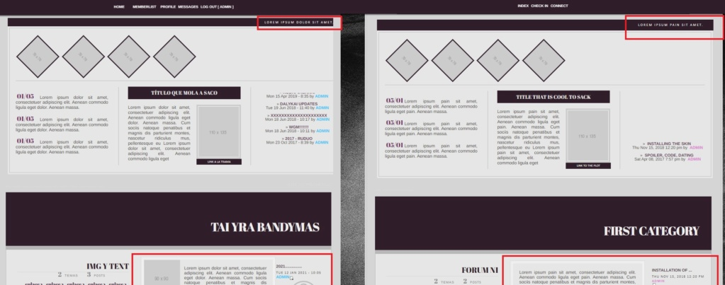 Hiding forum widgets, but keeping their effects Prievi10