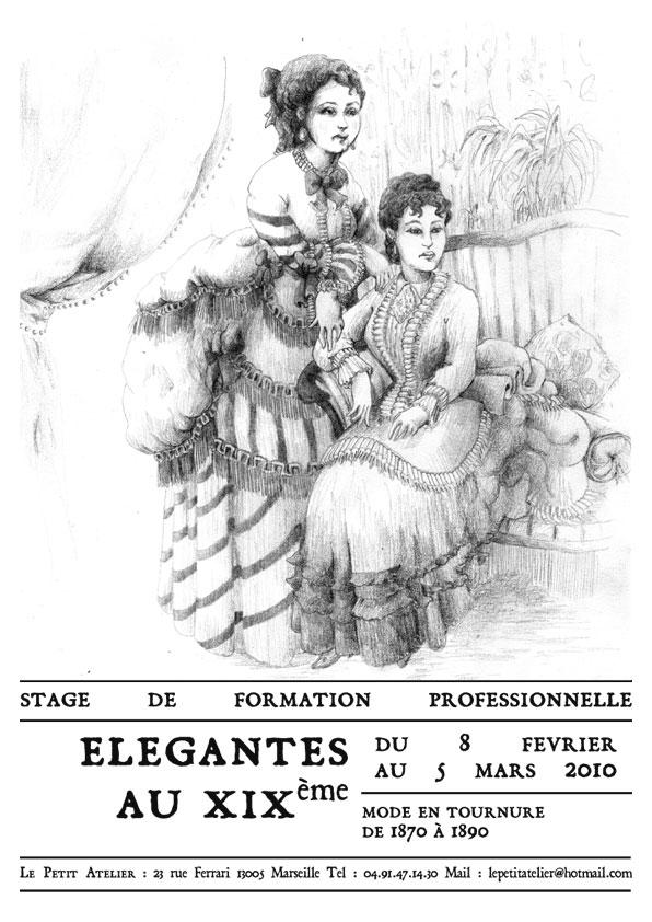 formation pour la réalisation des costumes des femmes en tournure (fevrier 2010) Stager11