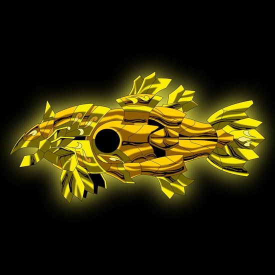 Armure du poisson Armure21