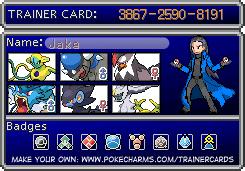 Pokémon Trainer Cards Mycard10