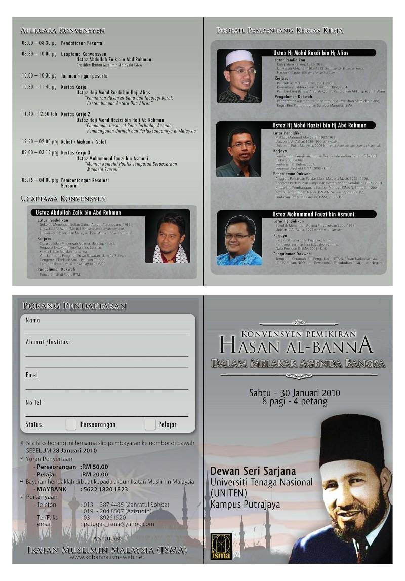 Konvensyen Pemikiran Hasan Al Banna 30 Jan 2010 Kobann11
