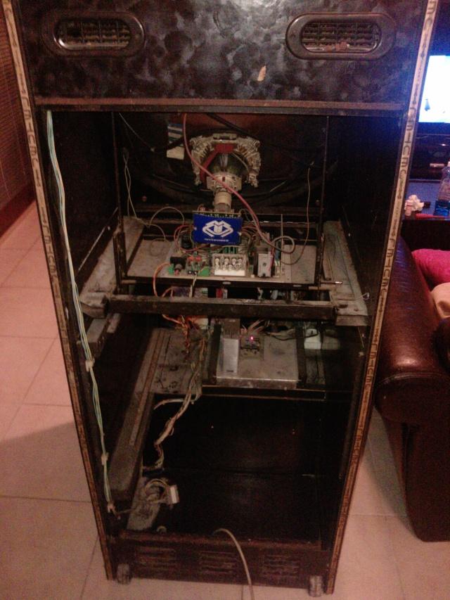 restauration borne arcade Jeutel n°1 ( Maxxx69 ) 100% d'origine Vendu P2054014