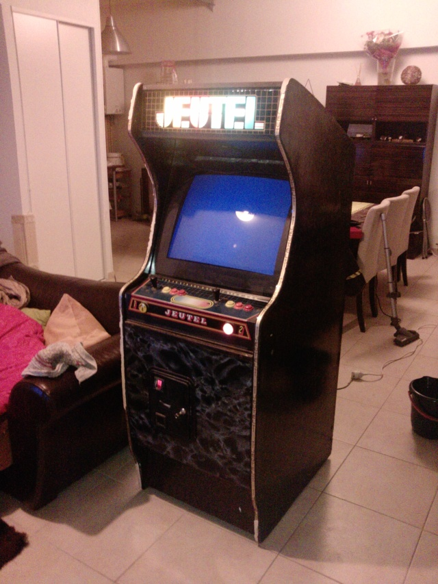 restauration borne arcade Jeutel n°1 ( Maxxx69 ) 100% d'origine Vendu P2054_12