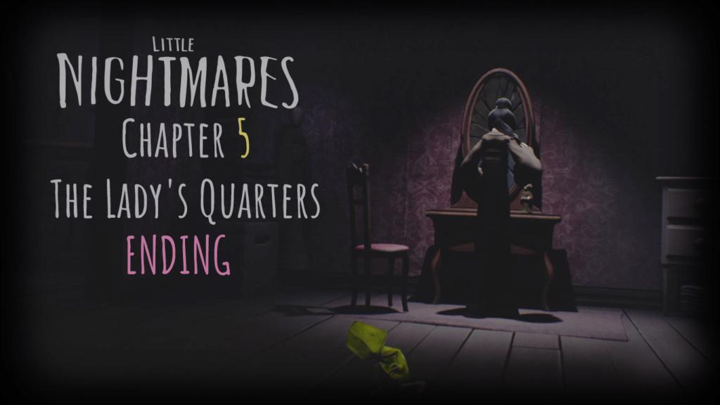 [720p HD] Little Nightmares   (PS5) تختيم لعبة كوابيس صغيرة - السيدة #5 Little14