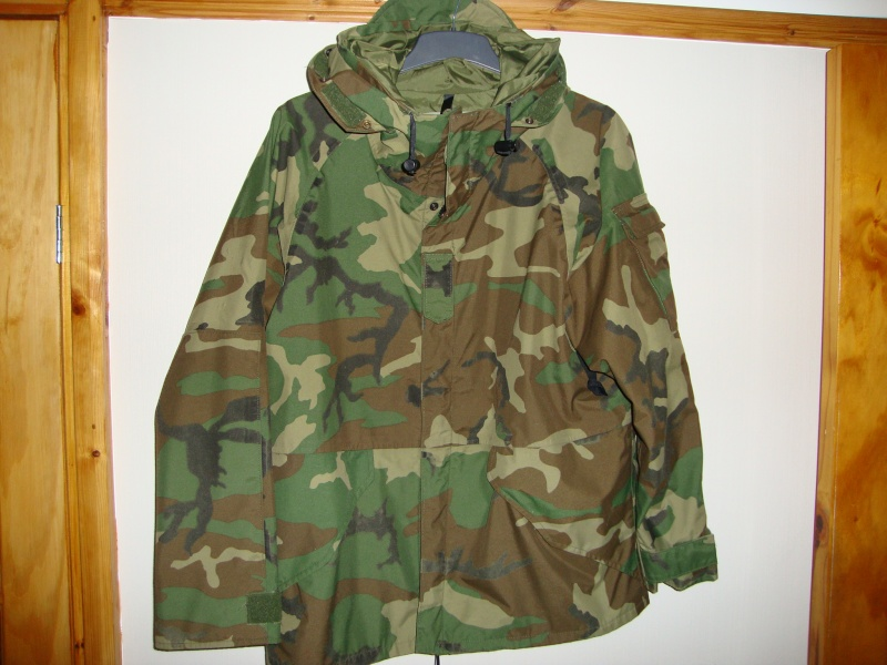Extended Cold Weather Clothing System Parka. Dsc08010