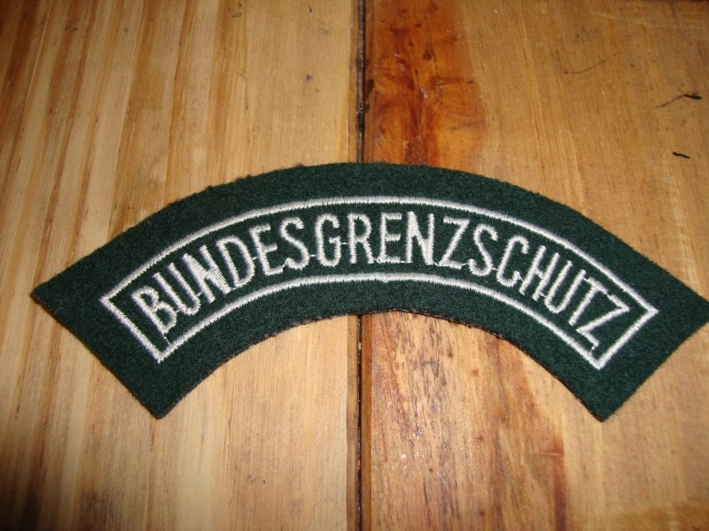 Bundesgrenzshutz patch Dsc08020