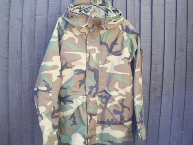 Extended Cold Weather Clothing System Parka. Ecws_w10