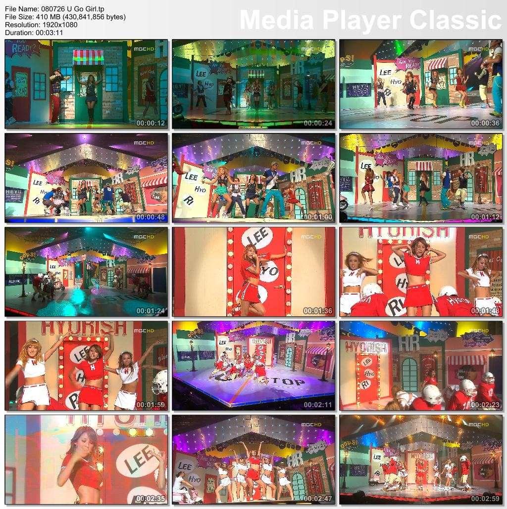 [080726] Hyori - U Go Girl MBC Music Core [410M/tp] 08072610