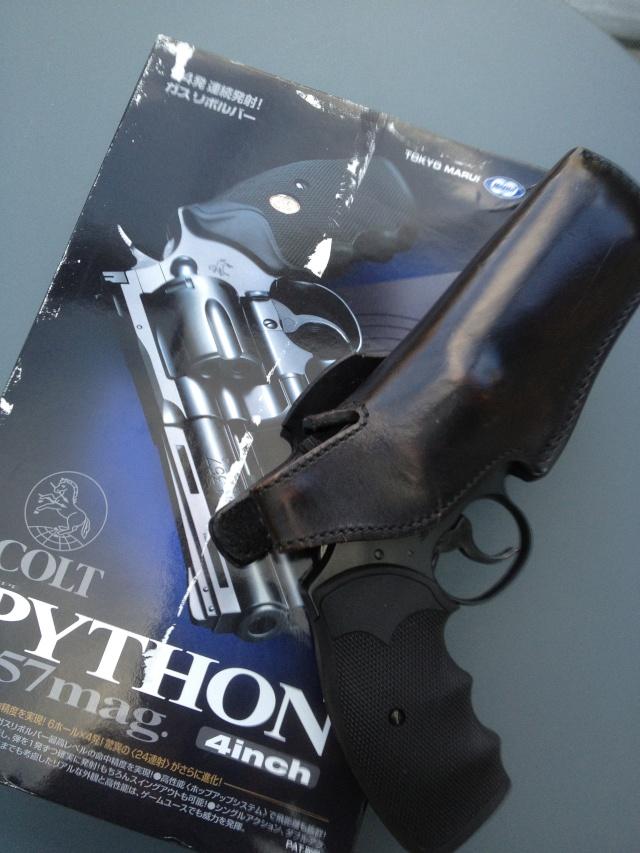 Tokyo Marui Python 4 pouces Noir Python11