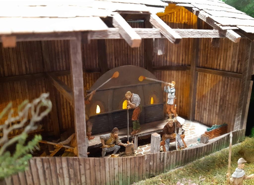 Altposchingerhütte um 1600, 30mm Figuren 20200533
