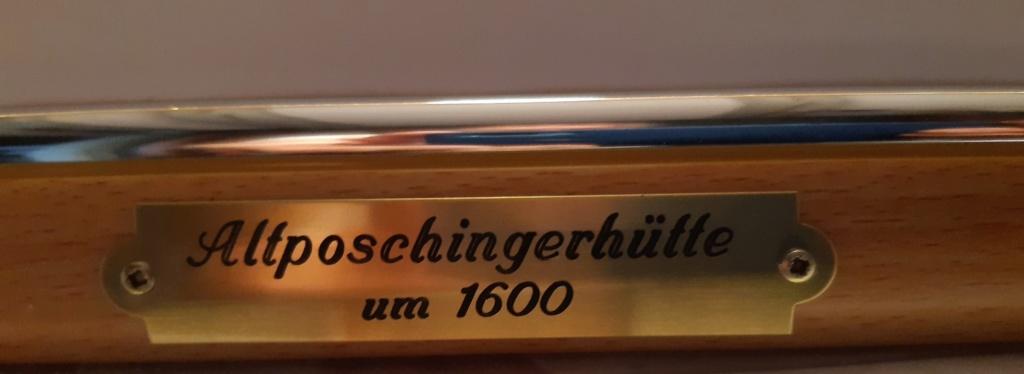 Altposchingerhütte um 1600, 30mm Figuren 20200535