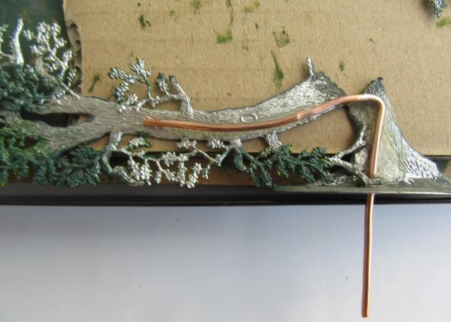 Salzsäumer um 1400, Der Burgstall Zwiesel, 30mm Figuren Img_2318