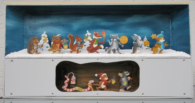 Laternenzug der Tiere, Flachfiguren 54 mm, Raizinn Img_2521