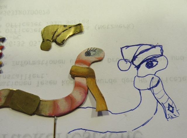 Laternenzug der Tiere, Flachfiguren 54 mm, Raizinn Img_2523