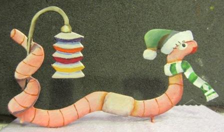Laternenzug der Tiere, Flachfiguren 54 mm, Raizinn Img_2712