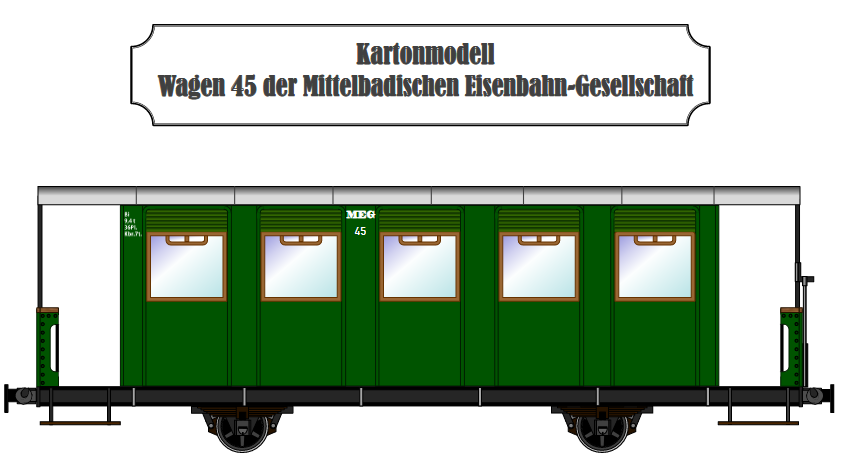 Wagen No. 45 der MEG, Gunnar Dannehl, M 1:45 Meg-4510