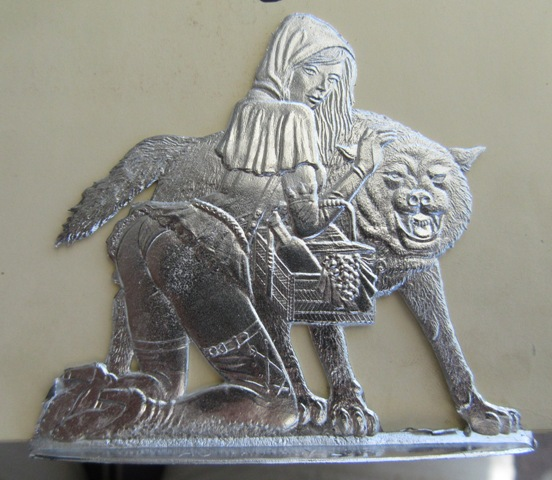 Laternenzug der Tiere, Flachfiguren 54 mm, Raizinn Schmal10
